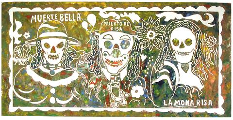 Anselmo Cornejo: 2006 Northfield Day of the Dead Steamroller Prints