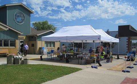 The Thousand print Summer at the Greenbush Library