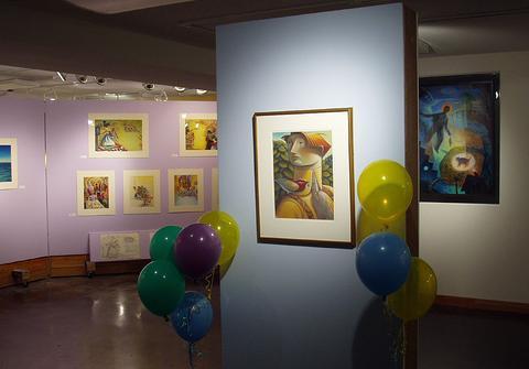Mary GrandPre Exhibit