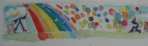 """Ranas Raeuchle """"An Artist's Folly"""" Skyway Design"""