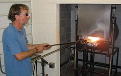 Rick Glassblowing