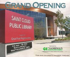 St Cloud Library Opening